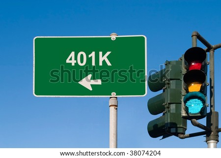 401k - stock photo