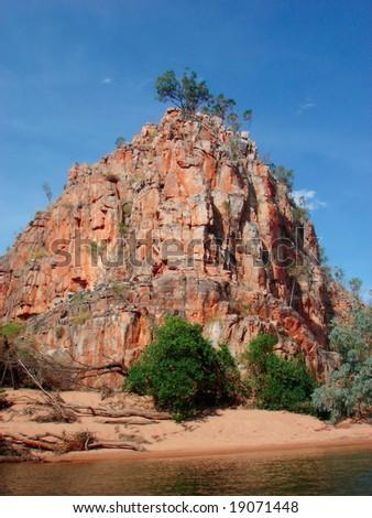 Katharine Gorge- Australia - stock photo