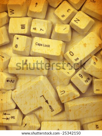 keys - stock photo