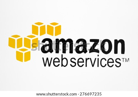 KIEV, UKRAINE - MAY 09, 2015:  Amazon logotype on pc screen. Amazon is an American company, the world's largest sales goods and services through the Internet. - stock photo