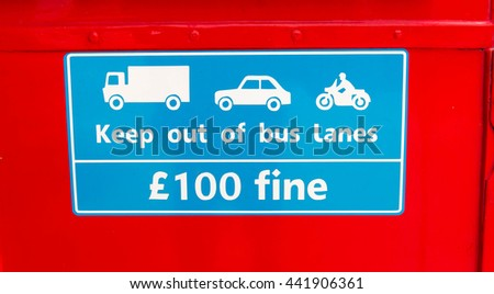 100 kilometers per hour speed limit sign. On a red background - stock photo