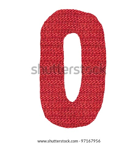 0 knitted spokes structure - stock photo