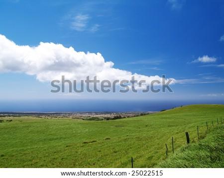 """""""kohala coast"""" of Big island - stock photo"""