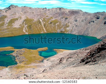 Lake Angelus - stock photo