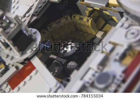 130917 London Uk Completed Display Model Stock Photo (Royalty Free ...