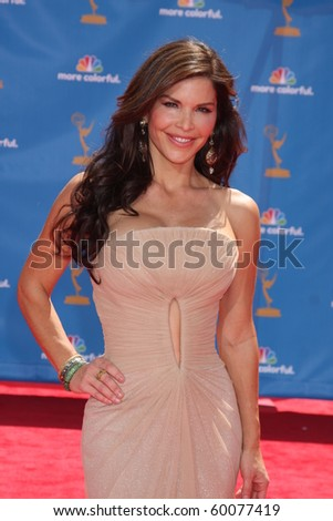 LOS ANGELES - AUG 29:  Lauren Sanchez arrives at the 2010 Emmy Awards at Nokia Theater at LA Live on August 29, 2010 in Los Angeles, CA