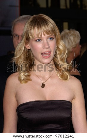 20041114: Los Angeles, CA: Actress JANUARY JONES at the 32nd Annual American Music Awards at the Shrine Auditorium, Los Angeles, CA.