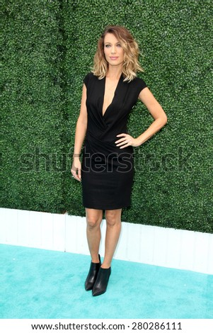 0LOS ANGELES - MAY 16:  Natalie Zea at the Super Saturday LA at the Barker Hanger on May 16, 2015 in Santa Monica, CA - stock photo
