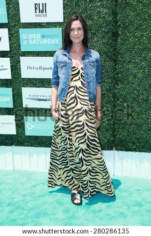 0LOS ANGELES - MAY 16:  Odette Annable at the Super Saturday LA at the Barker Hanger on May 16, 2015 in Santa Monica, CA - stock photo