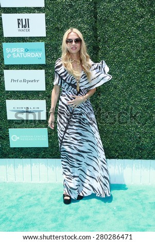 0LOS ANGELES - MAY 16:  Rachel Zoe at the Super Saturday LA at the Barker Hanger on May 16, 2015 in Santa Monica, CA - stock photo