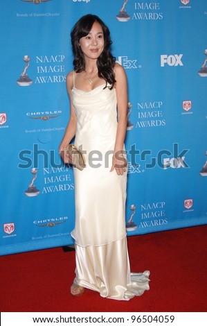 """Lost"" star YUNJIN KIM at the 37th Annual NAACP Image Awards at the Shrine Auditorium, Los Angeles. February 25, 2006  Los Angeles, CA  2006 Paul Smith / Featureflash"