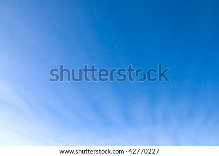 ?louds against a background blue sky - stock photo