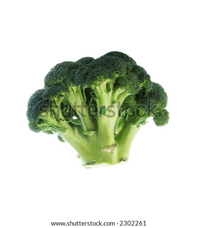 Low Carb Diet fresh broccoli - stock photo