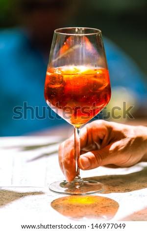 Aperol spritz veneziano
