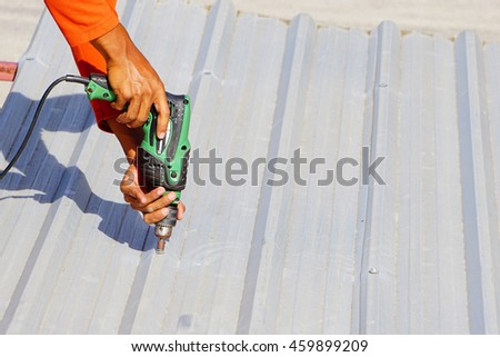 roof repair stock images royalty free images vectors shutterstock. Black Bedroom Furniture Sets. Home Design Ideas
