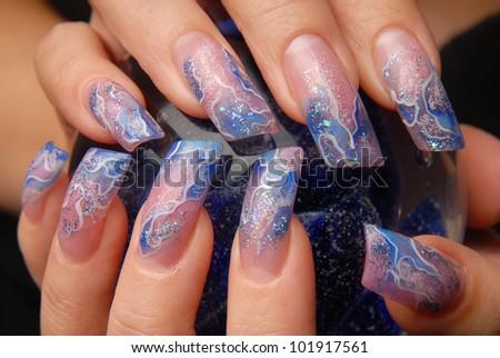 manicures - stock photo