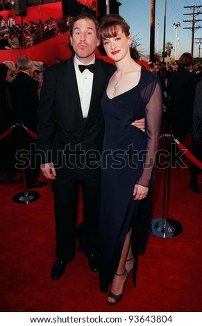 Joan Cusack and husband