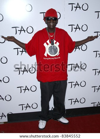 18 March 2011 - Las Vegas, Nevada - Flavor Flav.  Worship Thursday with Public Enemy at Tao Nightclub inside The Venetian Las Vegas, NV.  Photo Credit: MJT/AdMedia - stock photo