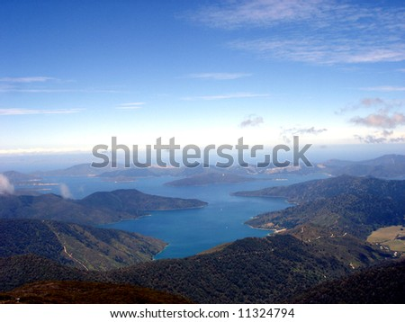 Marlborough  Sounds - stock photo