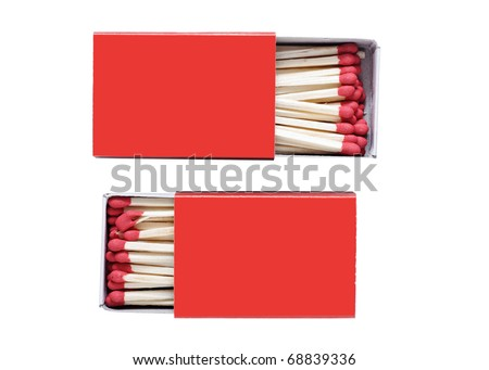 Matches. - stock photo