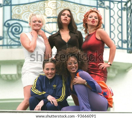10MAY97:  The SPICE GIRLS at the 1997 Cannes Film Festival.