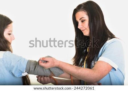 medical students - stock photo