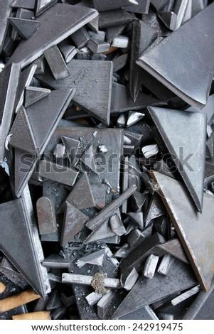 Metal - stock photo