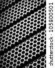 metal grid background - stock photo
