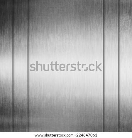 metal texture striped background - stock photo
