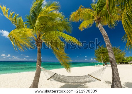 7 mile beach, Grand Cayman - stock photo