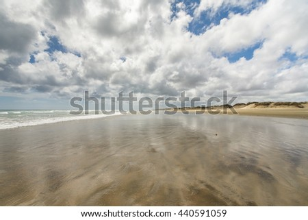 90 Mile Beach. New Zealand