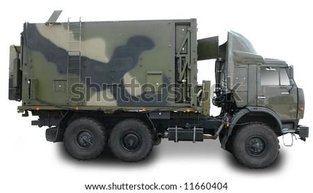 Military Truck - stock photo