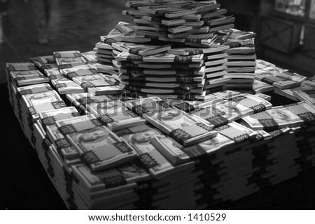 1 million dollars - stock photo
