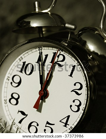 5 Minutes to Midnight - stock photo