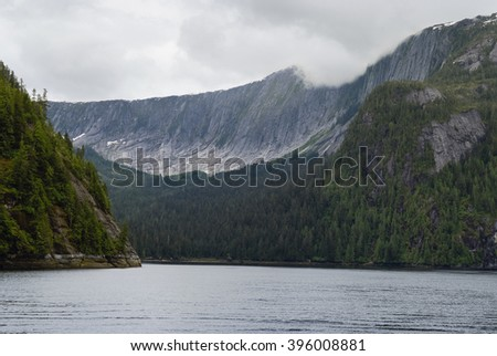 Misty Fjords National Monument, Alaska - stock photo