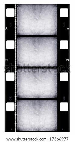 16 mm Film roll - stock photo