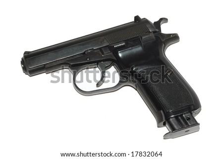 9mm Gun - stock photo