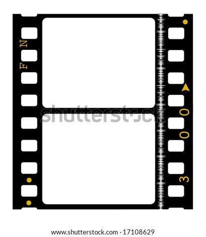 35 mm movie Film reel - stock photo