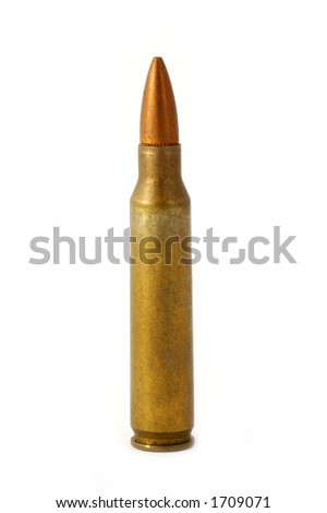 5.56 mm rifle shell - look in profile for more