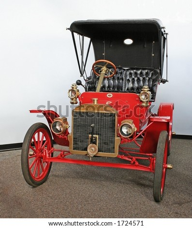 """1911 Model """"R"""" Ford - stock photo"""