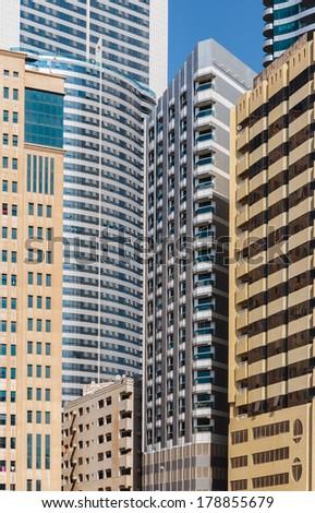 Modern buildings  - stock photo