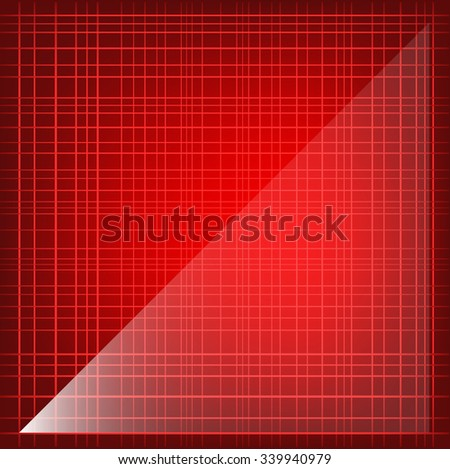Modern Glassy Striped Red Colorful Background
