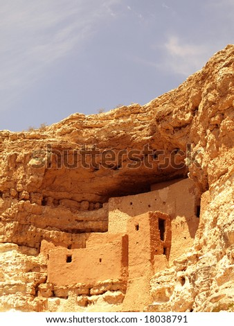 Montezuma Castle - stock photo