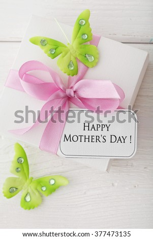 mothers day gift  - stock photo