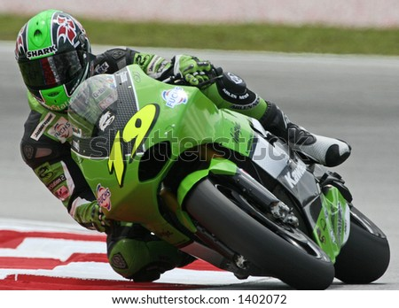 2005 MotoGP Race at 25 September at Sepang International Circuit, Malaysia. - stock photo