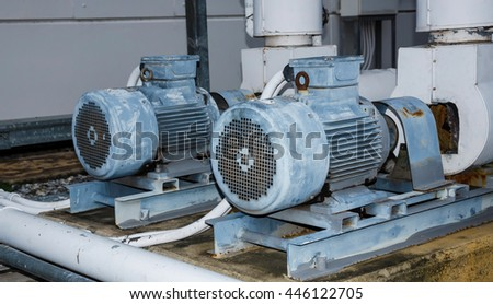 Motor pump air conditioner.
