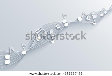 music background.  - stock photo