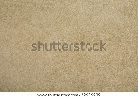 natural background - beige suede - stock photo