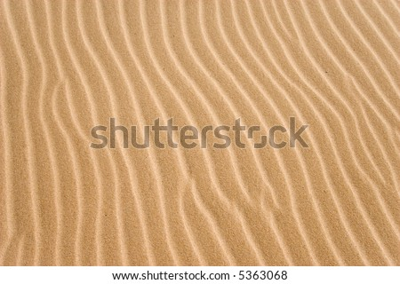 natural textured sand grooves background - stock photo