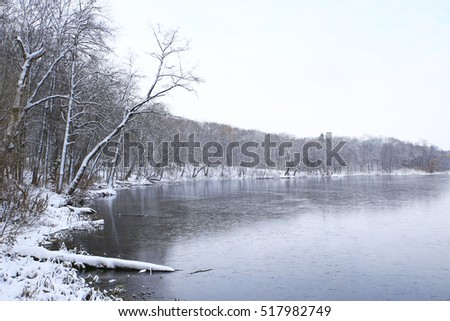 nature in winter and cold season, winter landscapes and facilities photos micro-stock